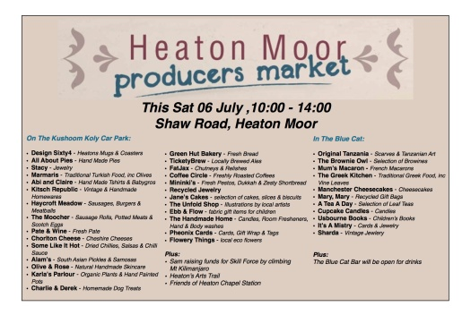 HM Market, Sat 6 July 2013