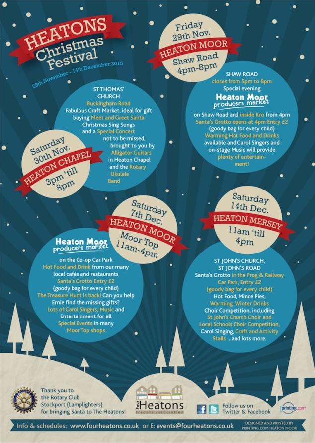 Xmas Festival 2013 Leaflet.indd